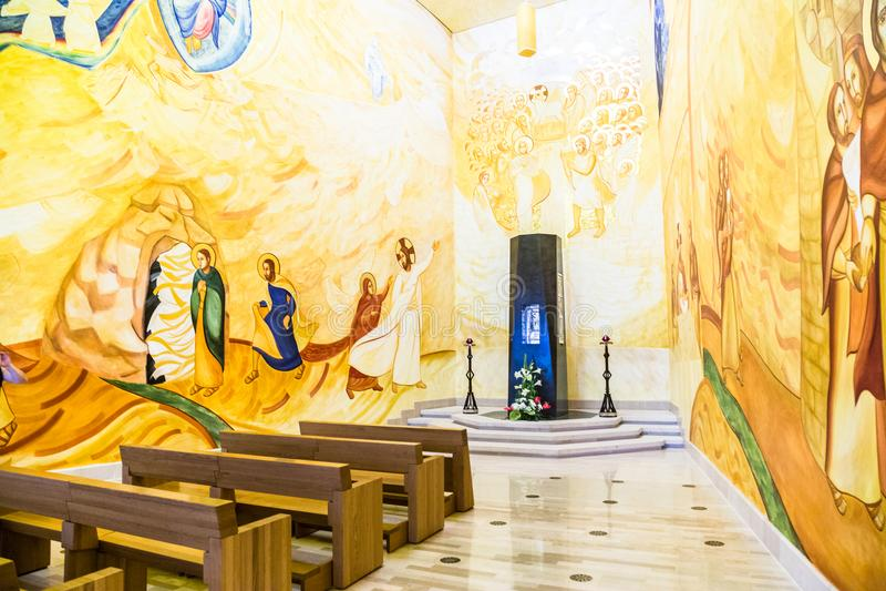 01 Juni 2017 Heiligdom van San Giovanni Rotondo, Apulia, Italië royalty-vrije stock afbeeldingen