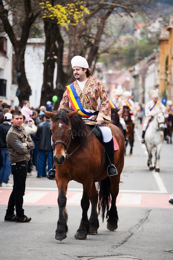 Juni parada w Brasov zdjęcie royalty free