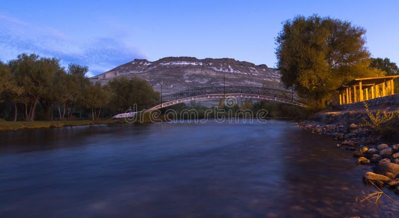 Junin de los le Ande fotografia stock libera da diritti