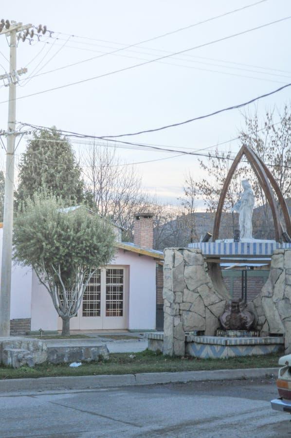 Junin de los le Ande, Neuquen immagine stock libera da diritti