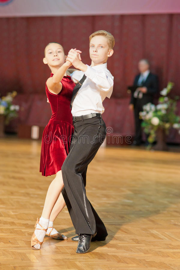 Download Junior Dance Couple editorial stock image. Image of beauty - 22834189