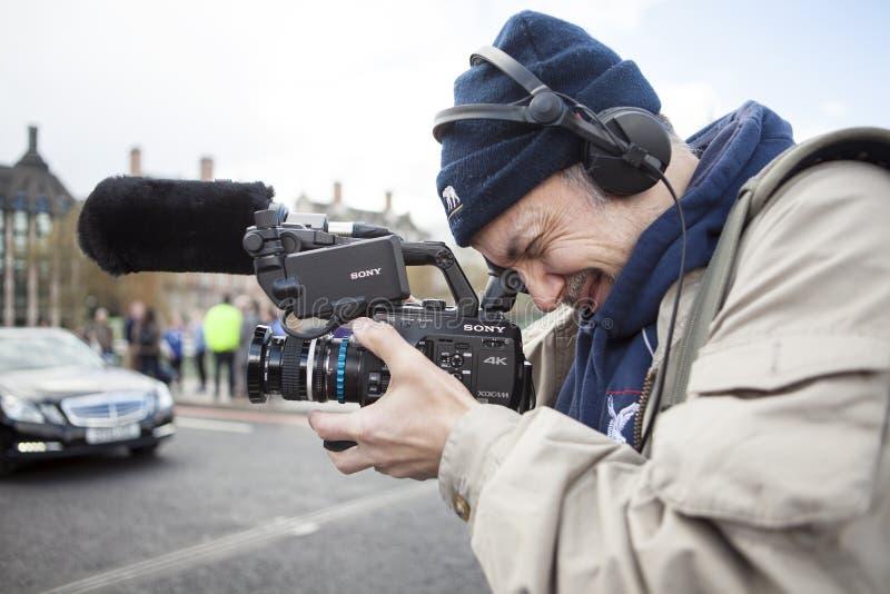 Junior Doctors March på Downing Street fotografering för bildbyråer
