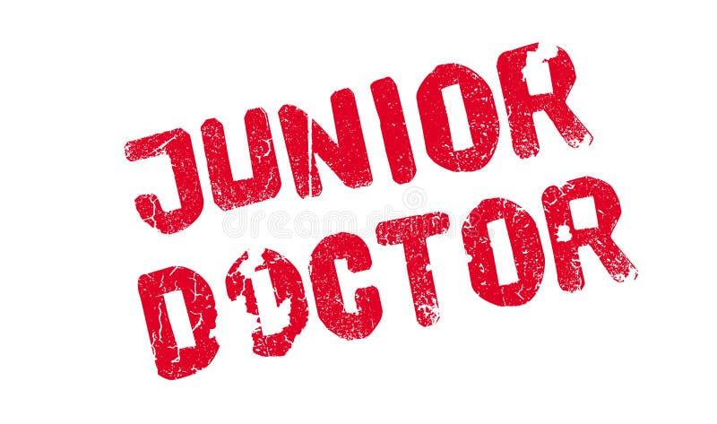Junior Doktorska pieczątka ilustracji