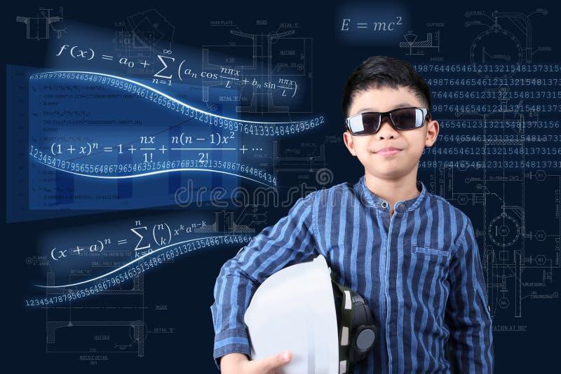 Junior Engineer with engineering background stock photos
