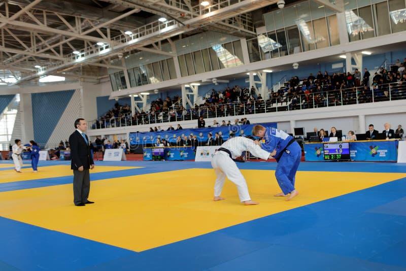 Junior European Judo Cup 2016 foto de archivo