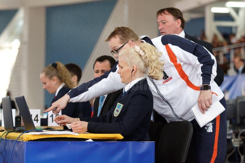 Junior European Judo Cup 2016 royalty-vrije stock fotografie