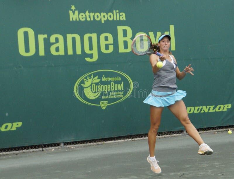 Junior Ladies Tennis Tournament royalty-vrije stock fotografie