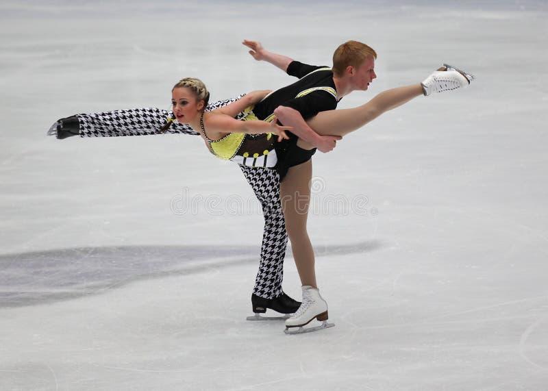Download Junior Pairs-Free Skating Event Editorial Photo - Image: 17408921