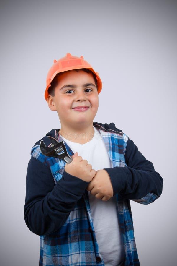 Junior Repairman fotografering för bildbyråer