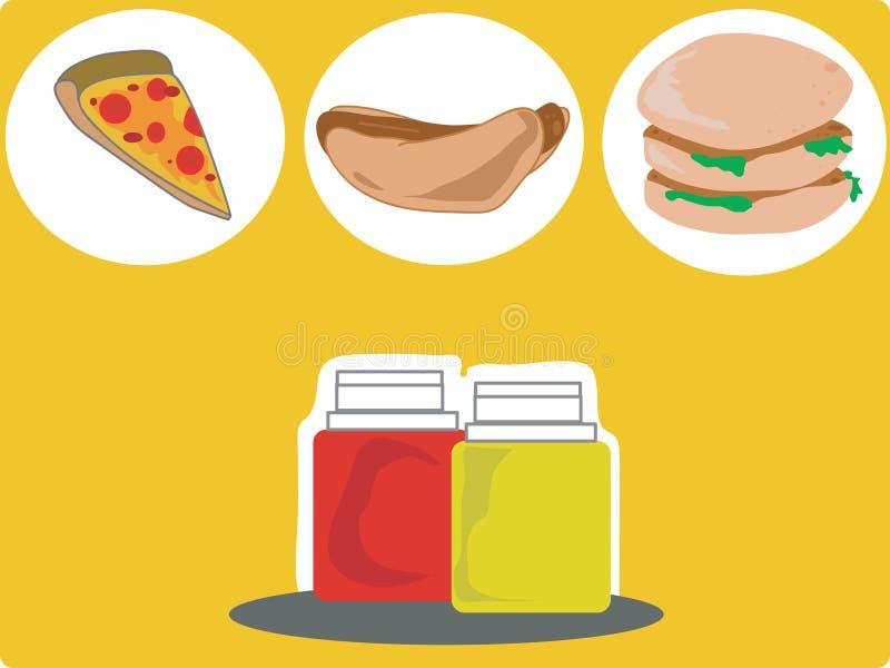 Junk Food 2 foto de archivo libre de regalías