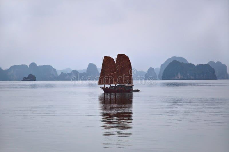 Download Junk, Halong Bay stock photo. Image of mountain, beautiful - 23623154