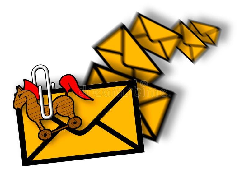 Junk mail royalty free illustration