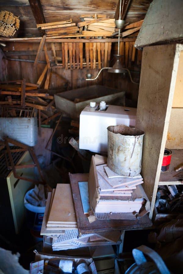 Junk storage room