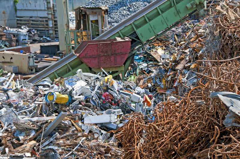 Download Junk yard stock image. Image of material, srape, waste - 20455353
