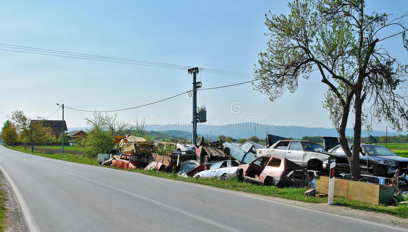 Download Junk yard stock photo. Image of corroded, nature, garbage - 20461864