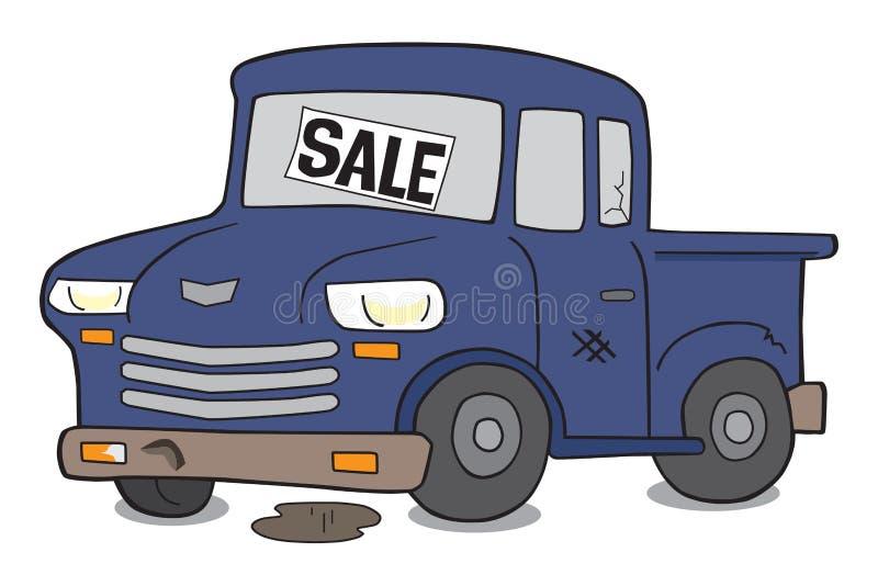 Junker automotriz de la historieta ilustración del vector