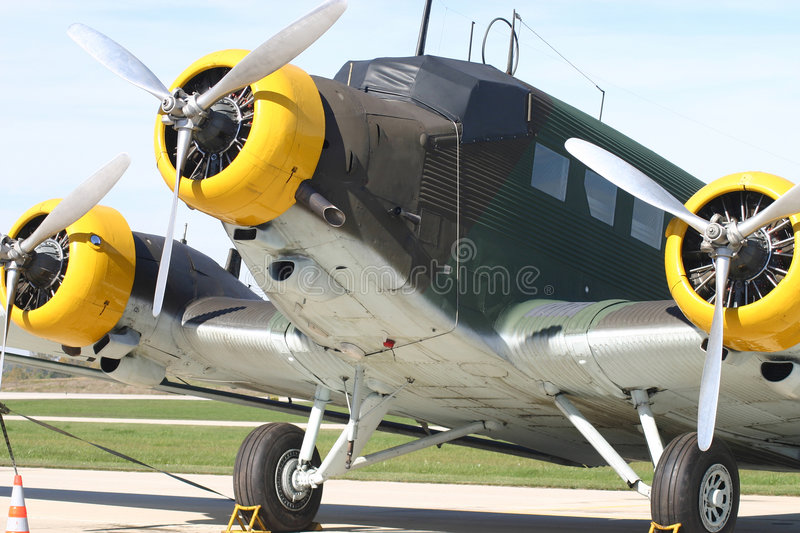 Download Junkers JU 52 Royalty Free Stock Photos - Image: 1339438
