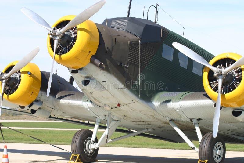 Junkers JU 52 fotos de stock royalty free