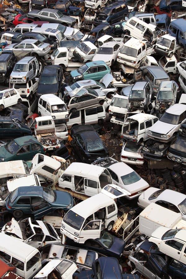 junkyard στοκ εικόνες με δικαίωμα ελεύθερης χρήσης