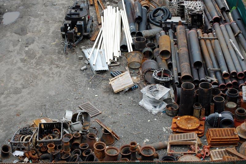 junkyard стоковая фотография