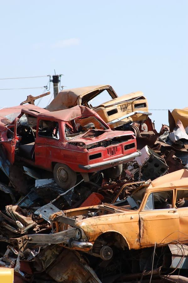 junkyard στοκ φωτογραφία