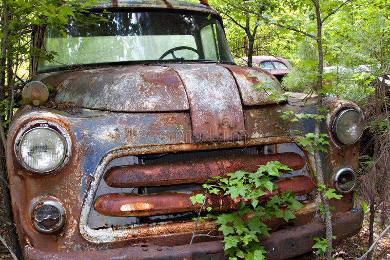 junkyard ciężarówka obraz royalty free