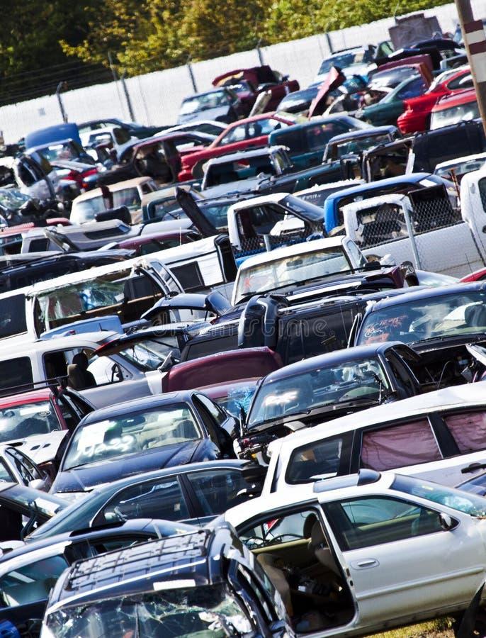 Download Junkyard Slant stock photo. Image of cars, wrecked, repairable - 33356700