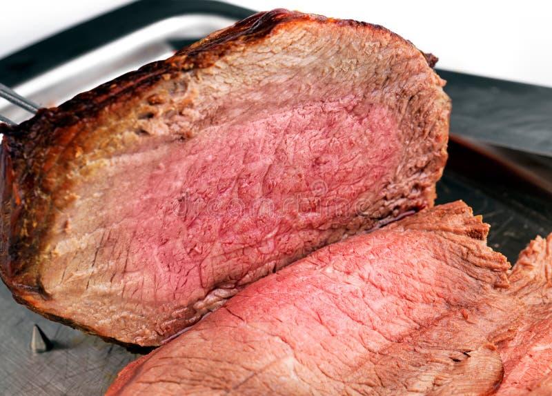 Junta de la carne asada de la carne de vaca imagen de archivo