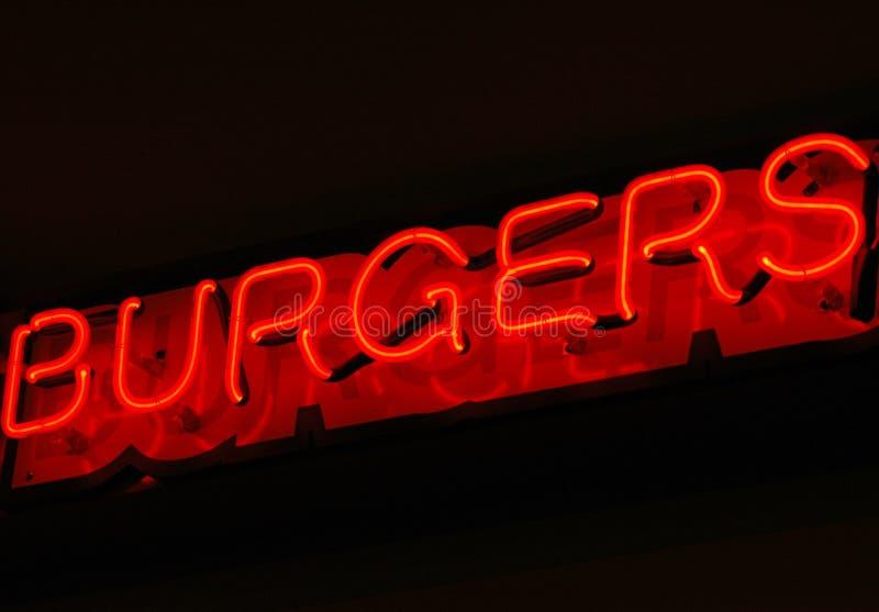 Junta de la hamburguesa fotografía de archivo