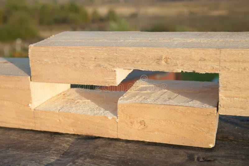 Junta de madera fotos de archivo