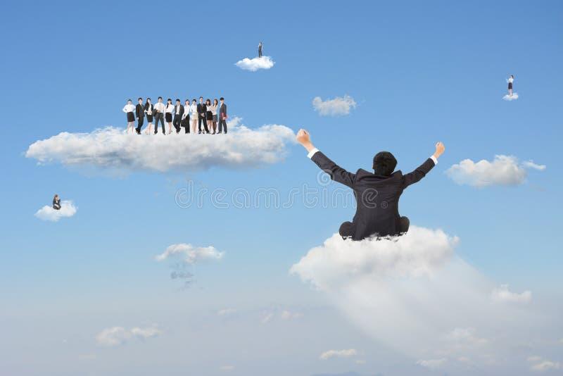 Junte-se à nuvem fotos de stock