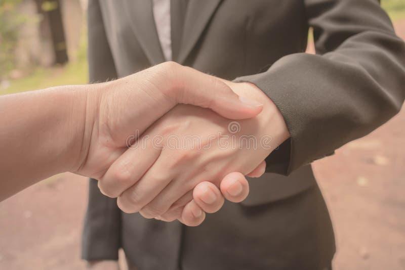 Junte-se a associados de negócio da mão foto de stock royalty free