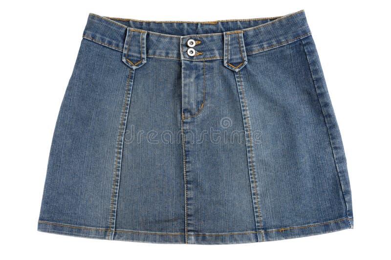 jupe bleue photos stock