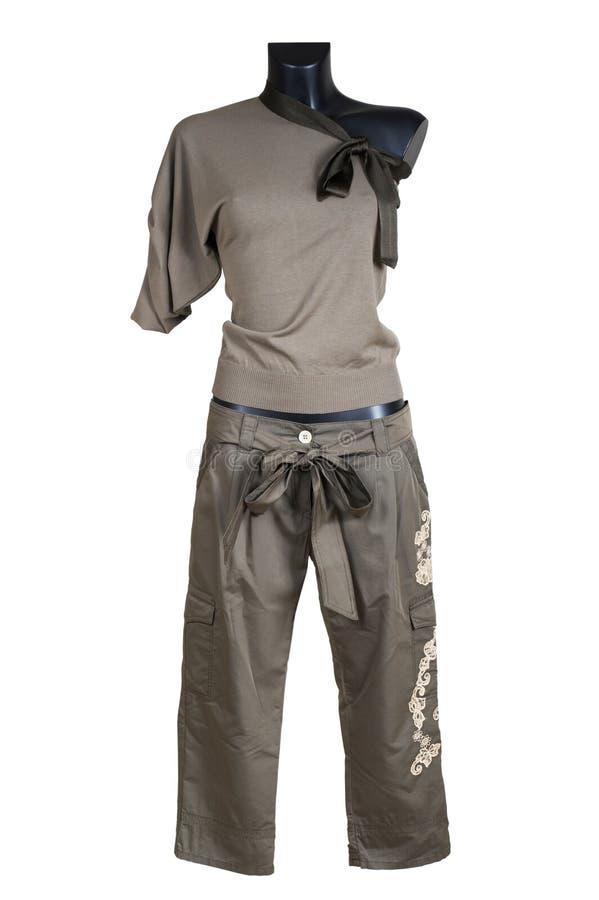 Jupe femelle tricotée images libres de droits