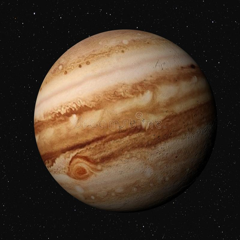 Jupiter stock illustratie