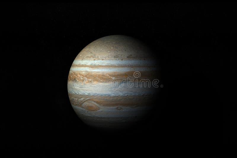 Jupiter ilustração royalty free