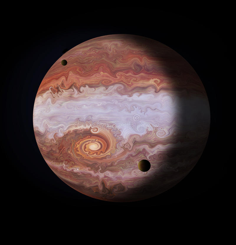 jupiter stock illustrationer