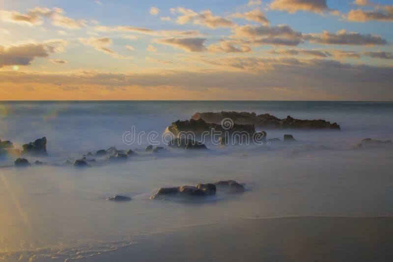 Jupiter Florida Sunrise. royalty free stock images