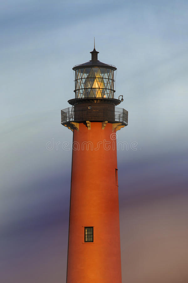 Jupiter Inlet Lighthouse lizenzfreie stockfotografie