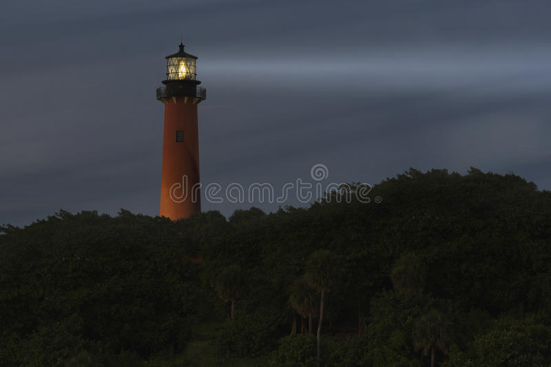 Jupiter Lighthouse immagine stock