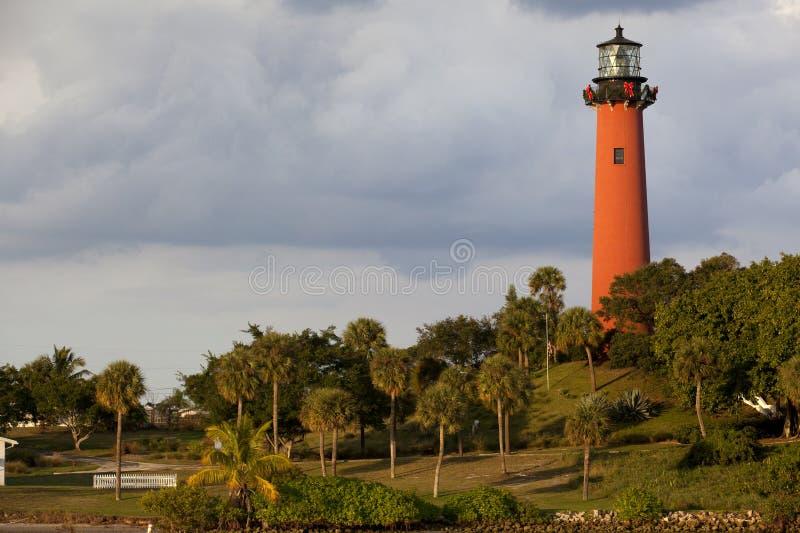 Jupiter Lighthouse. Florida stock photos