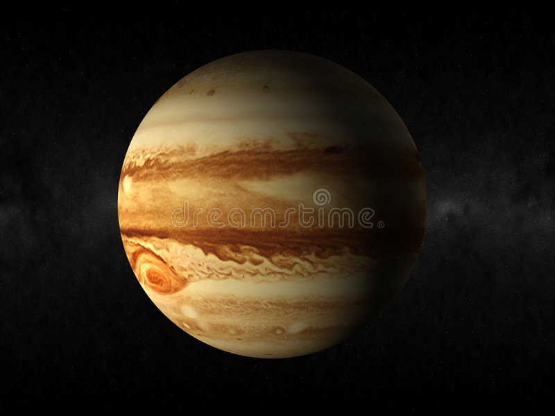 Jupiter-Planet stock abbildung