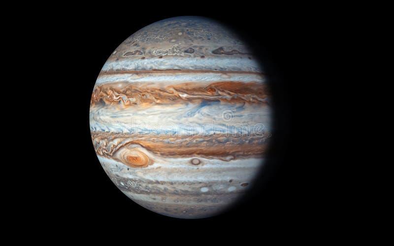 Jupiter Planet, Elementen van dit die beeld door NASA wordt geleverd vector illustratie