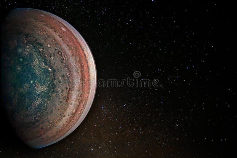 Jupiter planeta zdjęcia stock
