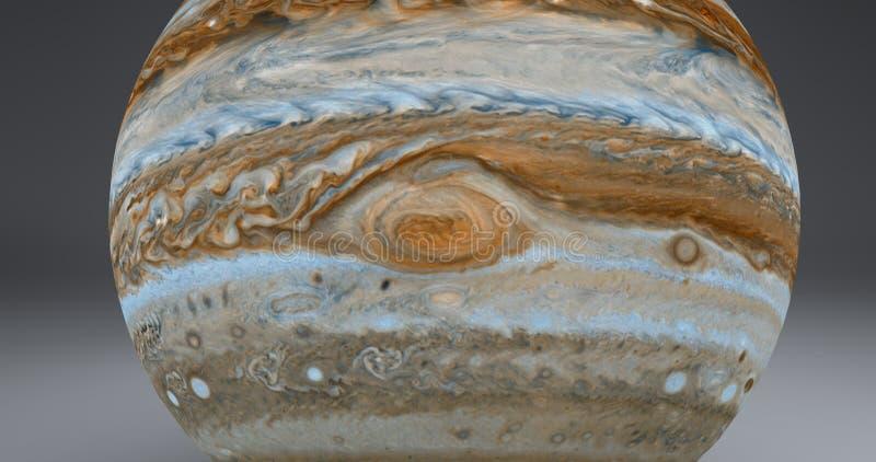 Jupiter Red Spot stock afbeelding