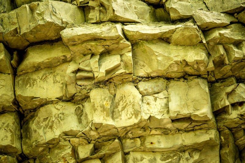Jura limestone shifts of the Swabian Alb. In Germany royalty free stock photo