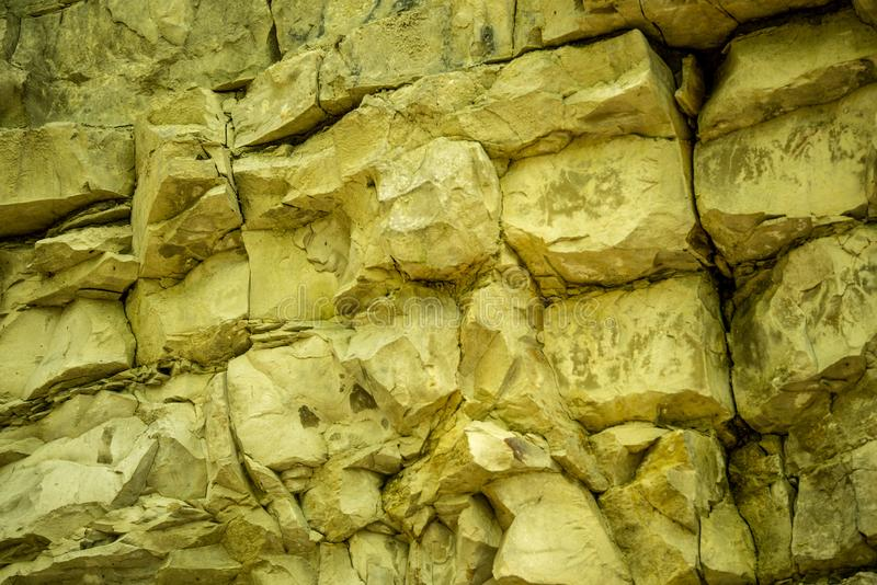 Jura limestone shifts of the Swabian Alb. In Germany stock photo
