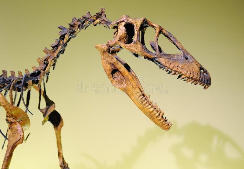 Juradinosaurus stock afbeelding
