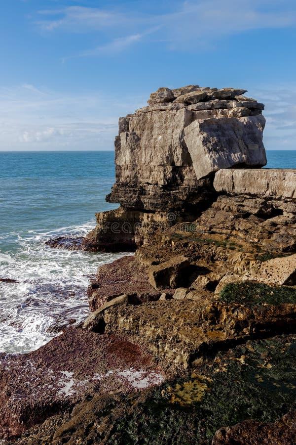 Jurajska linia brzegowa w Dorset obrazy royalty free