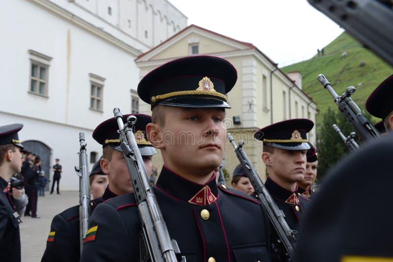 Jurar-da academia militar lituana imagens de stock royalty free